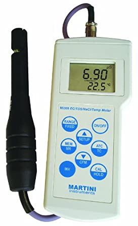 Milwaukee Mi306 Automatic and Logging EC/TDS/NaCl Temp Meter