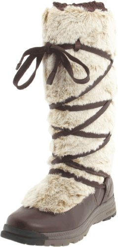 Merrell Women's Katia Wtpf Brown Fur Trimmed Boots J68092 6 UK, 39 EU