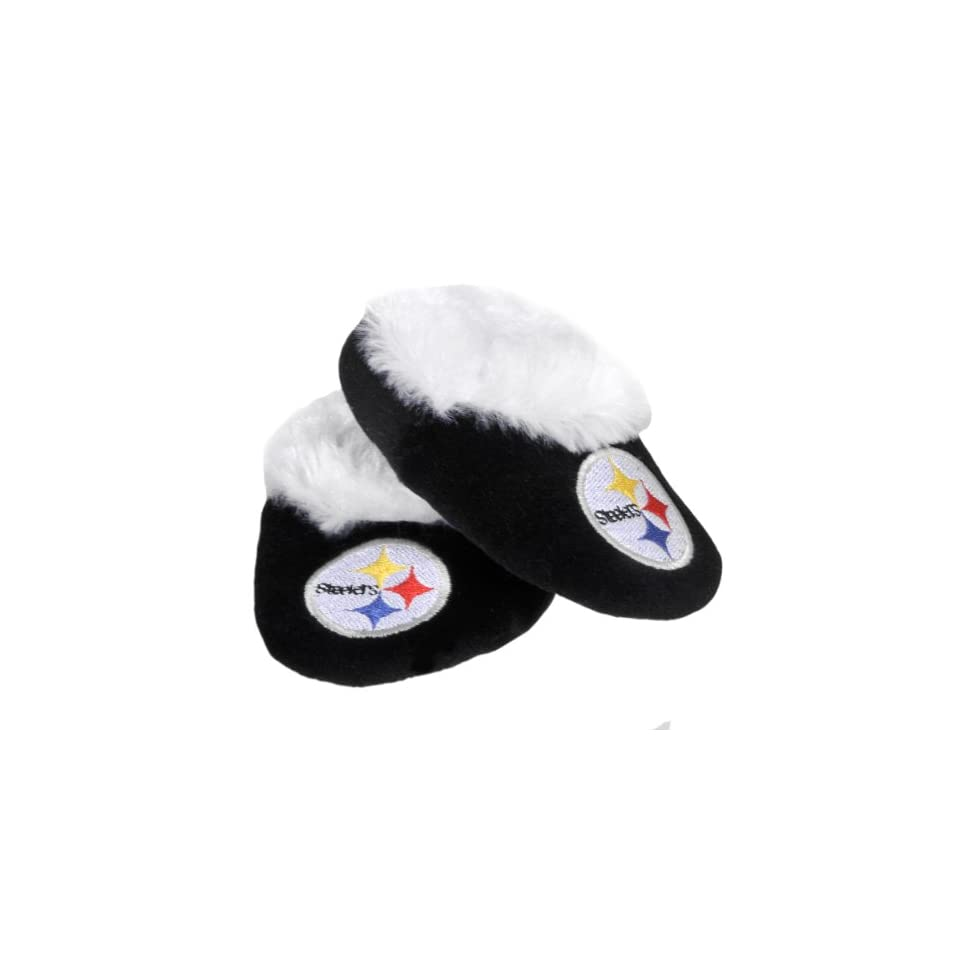 NFL Pittsburgh Steelers Baby Bootie Slippers