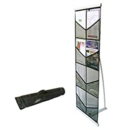 8 Pocket Literature Magazine Catalog Brochure Rack Holder Stand Portable Trade Show