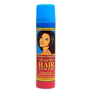 hair color spray blue black jerome