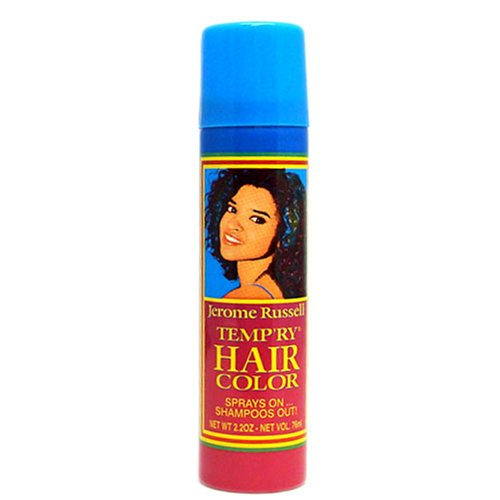 Temporary hair color spray; Sprays on…..Shampoo Out!!! Shake well before use