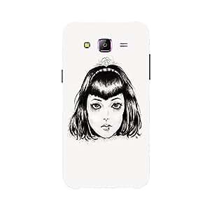 Back cover for Samsung Galaxy E7 Horror Girl