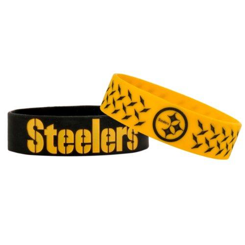 NFL Pittsburgh Steelers Bulky Bandz Bracelet