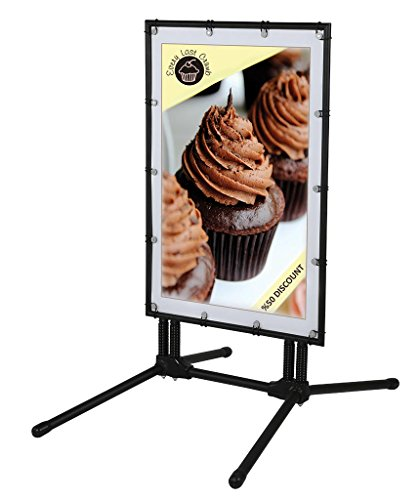 Banner-SwingPro-24w-x-36h-Poster-Size-Black-Frame-Black-Feet