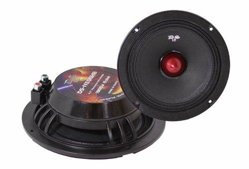 Ds18 Ds-Neo6Hb 6-Inch 1,000 Watts Neodymium Magnet Shallow Flat Bullet Midrange Speaker