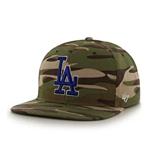 Dodgers LA Camouflage Hat by MLB Los Angeles Dodgers