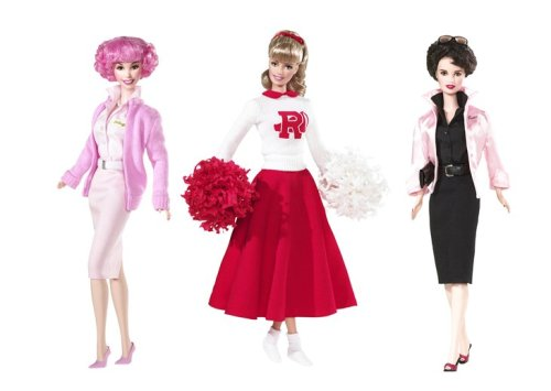 rizzo grease movie. Barbie Set of 3 Grease Girls: