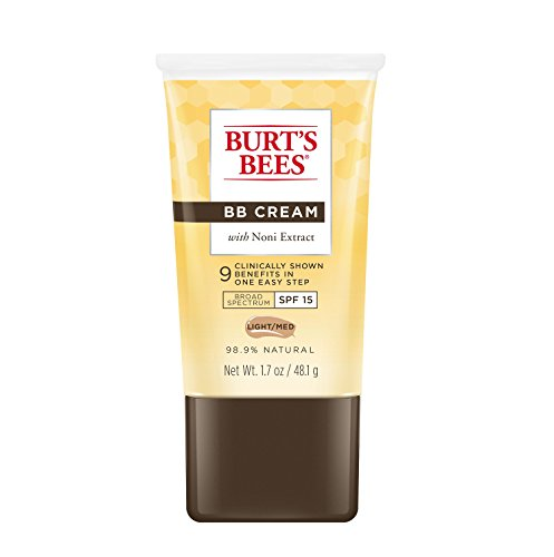 Burts Bees BB Cream with SPF 15, Light / Medium, 1.7 Ounces