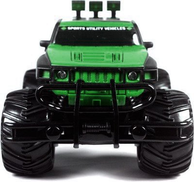 Webkreature Bigfoot Extreme Rock Crawler Monster Truck With Radio Controller Color may vary