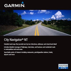 Garmin City Navigator 2012 Germany/Austria/Switzerland/Liechtenstein/Northern Italy/Eastern FranceMap micro SD Card