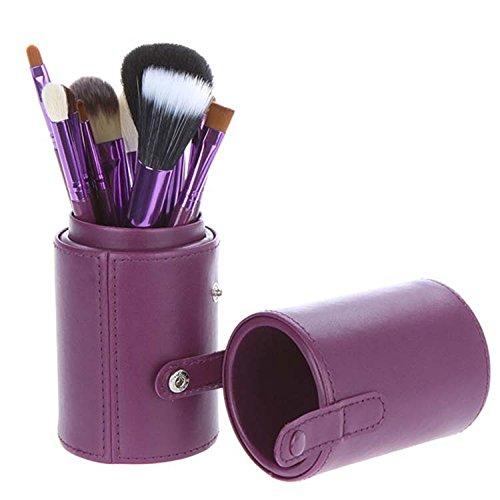 meiwei-12-pcs-maquillaje-cepillo-conjunto-cilindro-lana-4-opciones-de-color-12-cylinder-purple