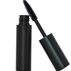 Shimarz Black Mascara Makeup & Clump Proof Brush Wand All Natural, 85% Organic, Vegan, Gluten Free, No Animal Cruelty, Hypoallergenic, Safe For Sensitive Eyes, No Toxic Chemicals, Non Irritatin