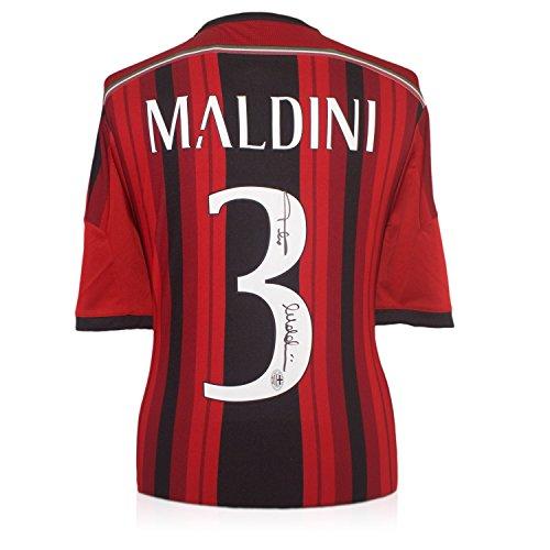 Milan Camicia Firmato da Paolo Maldini