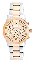 Giordano Analog Rose Gold Dial Womens Watch - A2011-33