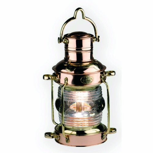 Anchor Oil Lamp - Polished Brass And Copper Finish - Authentic Models Sl043