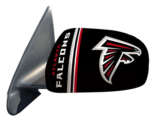 Fanmats Nfl Atlanta Falcons Polyester Mirror Cover-Small front-678922