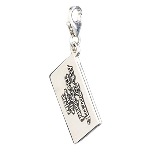 Official Harry Potter Sterling Silver Hogwarts Letter Clip on Charm - Boxed