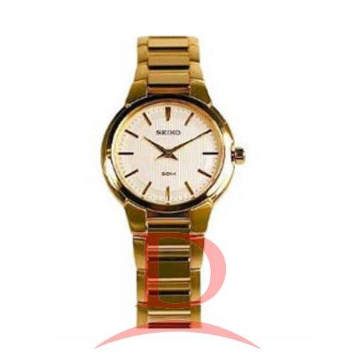 Seiko Dress Elegant Quartz Gold Tone SFQ838P1