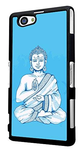 504 - indian God Evil Eye Design für Alle Sony Xperia Z / Sony Xperia Z1 / Sony Xperia Z2 / Sony Xperia Z3 / Sony Xperia Z4 / Sony Xperia Z1 Compact / Sony Xperia Z2 Compact / Sony Xperia Z3 Compact / Sony Xperia Z4 Compact / Sony Xperia M2 / Sony Xperia M4 Fashion Trend Hülle Schutzhülle Case Cover Metall und Kunststoff - Bitte wählen Sie Ihr Telefonmodell und Farbe aus der Dropbox