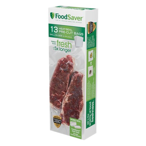 FoodSaver 13 Gallon-sized Bags (Foodsaver 1 Gallon Bags compare prices)
