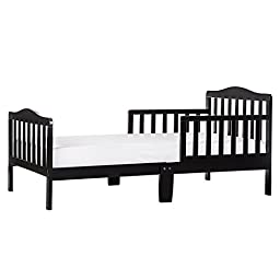 Dream On Me Classic Toddler Bed, Black