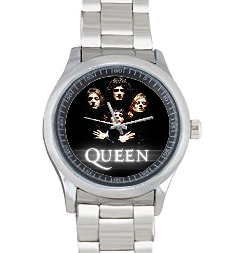 Dude Watch Dude Custom queen Men's Stainless Steel Watch Sliver Metal