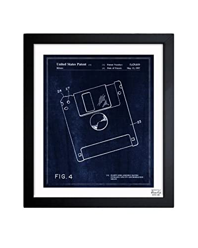 Oliver Gal Floppy Disk, 1997 Framed Art