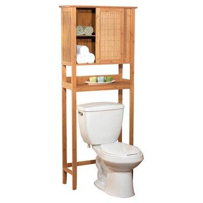 Target Marketing 23040NAT Bamboo Space Saver Cabinet, Bamboo