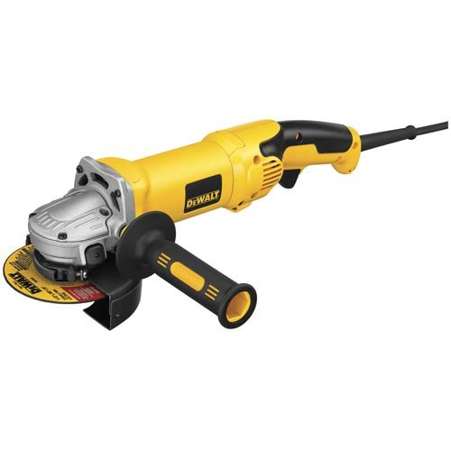 DEWALT D28065N 5-Inch /6-Inch High Performance Grinder with No-Lock On Trigger Grip