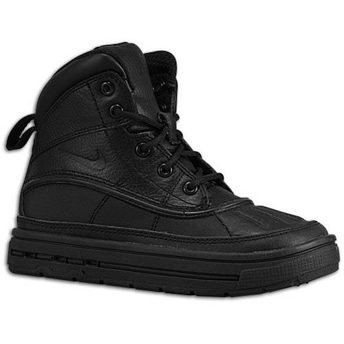Nike Boy's Woodside 2 High Snow Boots (PS) Black/Black 13C
