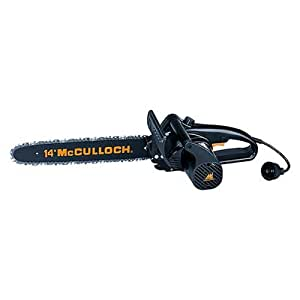 McCulloch 14-Inch 1.5 HP Electric Chainsaw  41AZ415P977 (Discontinued by Manufacturer)