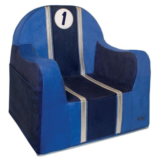 P'Kolino New Little Reader Chair - Race Car front-519971