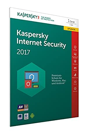 Kaspersky Internet Security 2017 Upgrade (Code in a Box) (FFP)