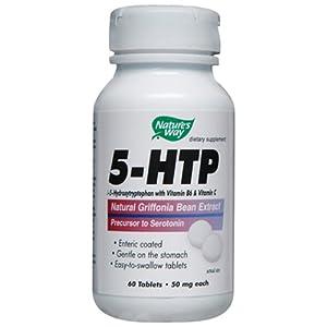 Nature's Way 5-HTP 50 mg Tabs, 60 ct