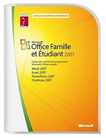 Microsoft Office Home and Student 2007  French (vf)