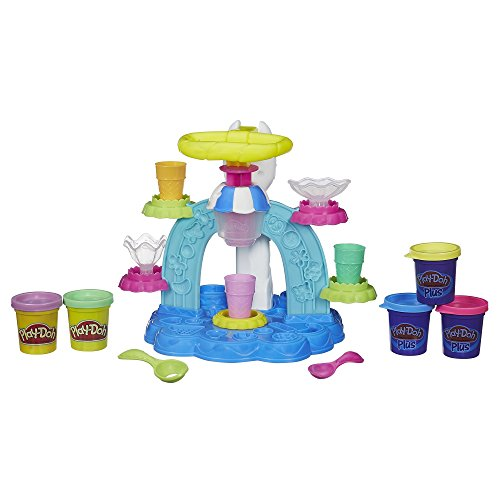 Play-Doh Sweet Shoppe Swirl and Scoop Ice Cream Playset (Play Doh Swirl Ice Cream compare prices)