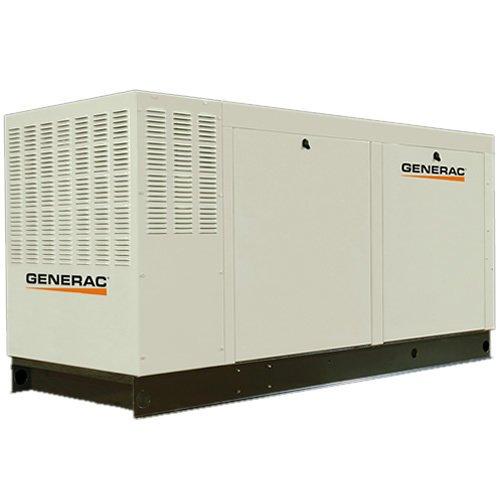 Generac Qt13068Knac Liquid-Cooled 6.8L 130Kw 277/480 Volt 3-Phase Natural Gas Aluminum Commercial Generator