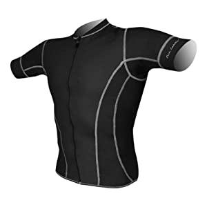 DeSoto Men's Forza Riviera Tri Jersey with Short Sleeves - 2015