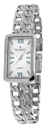 Peugeot Women's 7031S Silver-Tone Bracelet Watch