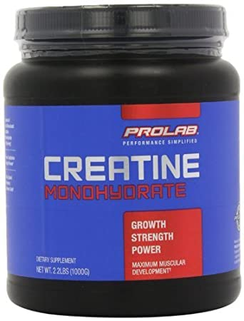 Prolab Creatine Monohydrate Powder,(1000g)2.2 lbs by ProLab (English Manual)