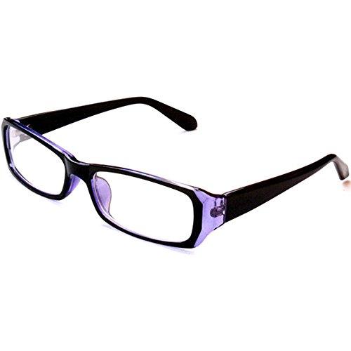 La passo PCメガネ ブルーライトカット 度なし 目に優しい パソコン用メガネ 青色光カット クロス&ケース付3点セット (ブルー)
