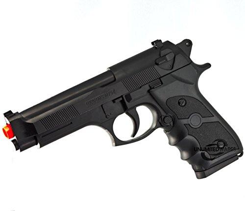 UKARMS M9 92 FS BERETTA FULL SIZE SPRING AIRSOFT PISTOL HAND GUN w/ 6mm BB BBs (Sniper Airsoft Gun 1000 Fps Cheap compare prices)