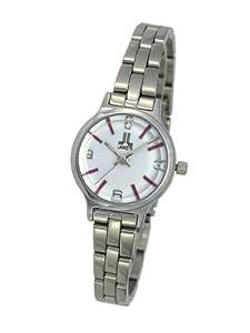 LANCETTI ITALY (ランチェッティ) 腕時計 レディース ドレス ウォッチ LT-16008 ホワイト レッド