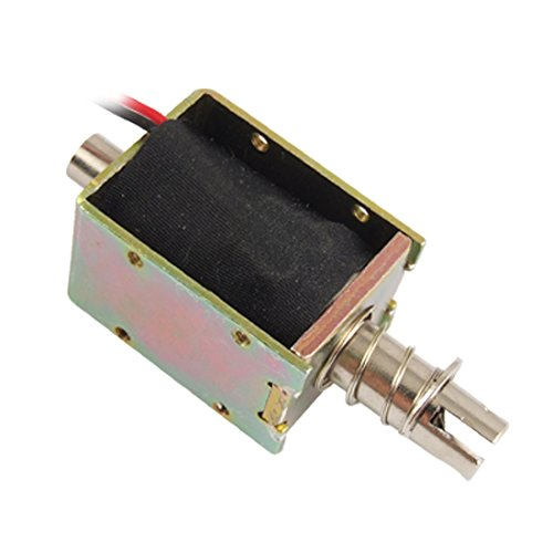 Dc 24V 0.96A Push Type Frame Actuator Electric Solenoid front-165874