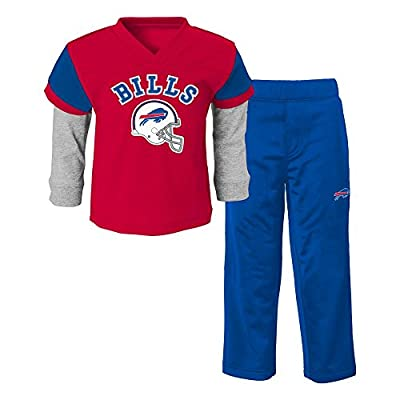 NFL Buffalo Bills Infant/Toddler Jersey Style Pant Set