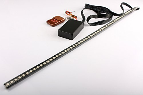 Brand New 56Cm 48 Led Car Strip Knight Rider Light Flash Waterproof Red