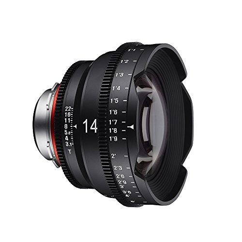 xeen 15014t3.1N t3.1Cine Objectif Nikon connecteur 14mm noir