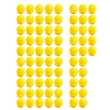 75 Ultra Foam Balls Compatible For Nerf Rival Apollo Zeus Bullet Balls, Refill Ammo for Nerf Rival (75) Pieces