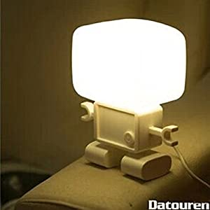 belpair creative robot intelligent lamp sound and light